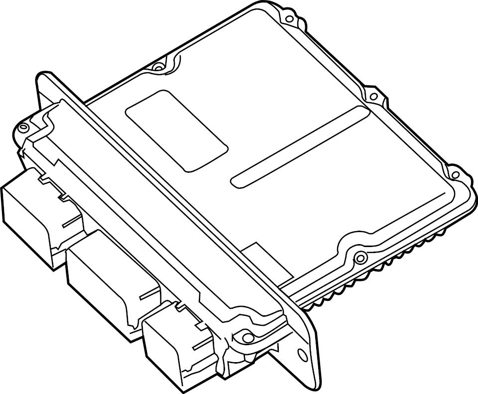 Ford F-250 Super Duty Ecm. Engine control module. Module