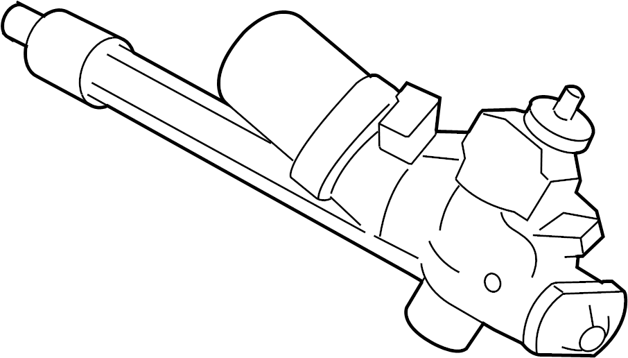 Ford Escape Rack and Pinion Assembly. Steering, GEAR, Make