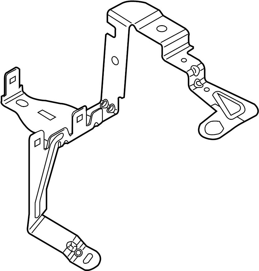 Ford Fusion Fuse Box Bracket. Junction Block Bracket