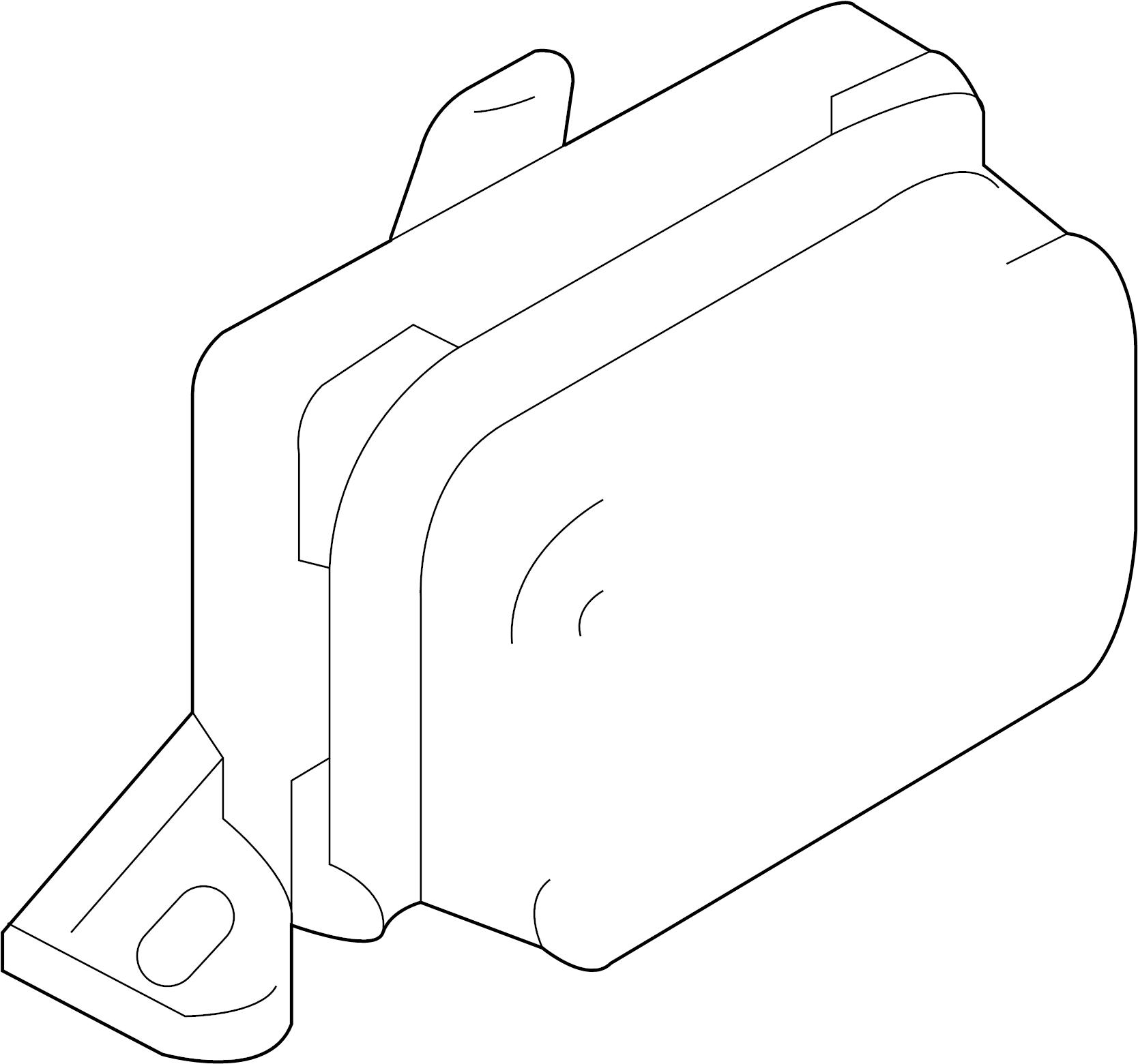 Ford Escape Suspension Yaw Sensor. Rate, Traction, CONTROL