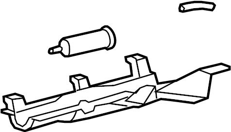 Ford Escape Vapor Canister. LITER, EMISSION, System