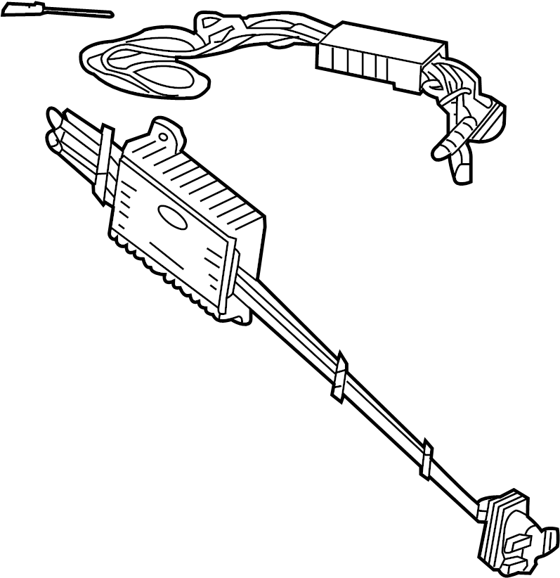 2014 Ford Trailer Tow Harness. 2015-18, ACCESSORY. 2019