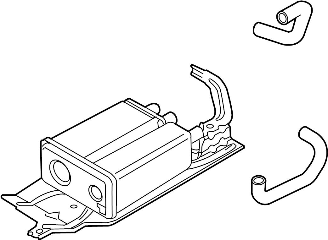 Ford Edge Vapor Canister. EMISSION, LITER, SYSTEM