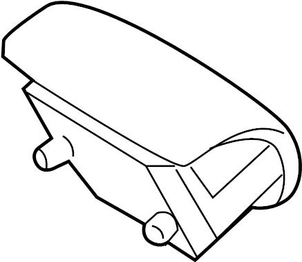 2014 Ford Edge Driver air bag. DRIVER INFLATOR MODULE