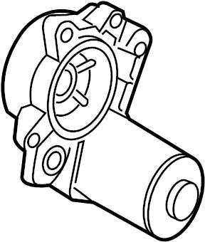 2013 Ford Fusion Motor. Parking. Electric. Adjust. Brake