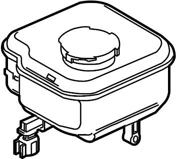 2006 Ford Freestar Brake Master Cylinder Reservoir