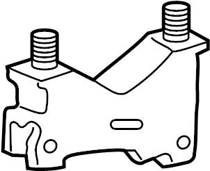 Ford Taurus Mount insulator. TRANSMISSION mount BRACKET