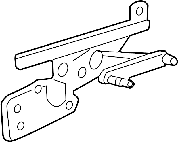 Ford Expedition Window Regulator (Rear). WHEELBASE, Power