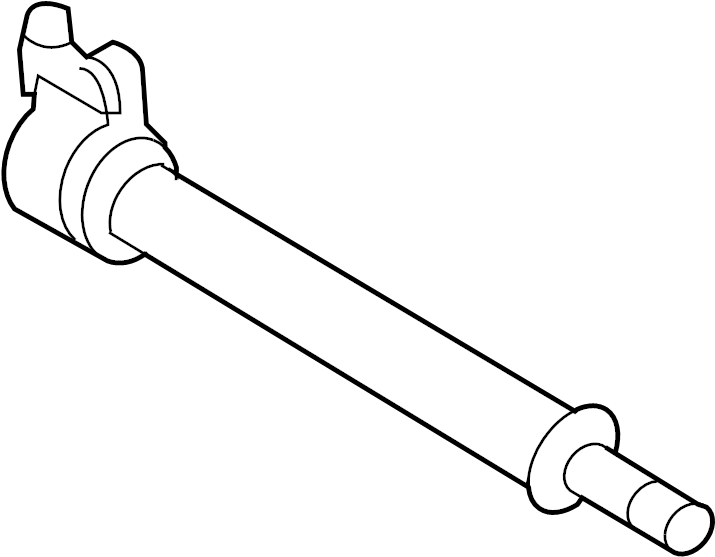 Ford Edge Cv intermediate shaft. Right, axles, axle