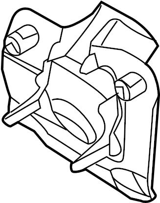 Ford Edge Steering Coupling Boot. Edge, MKX. W/MANUAL TILT