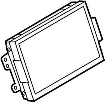 Ford Edge Display unit. GPS Navigation System. W/SYNC. W