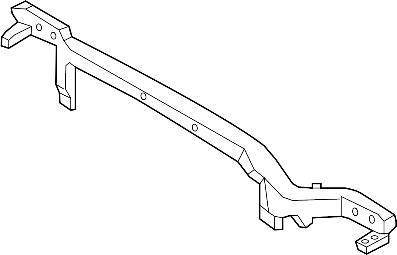 Ford Edge Reinforcement Reinforced Support Radiator