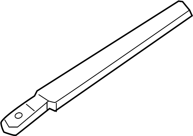 Ford Explorer Back Glass Wiper Arm (Rear). Arm. Wiper