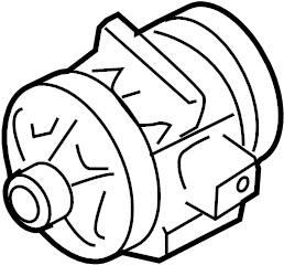 2008 Ford Fusion Air conditioning (a/c) compressor