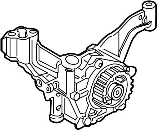 Ford Fiesta Engine Oil Pump. BEARINGS, CRANKSHAFT