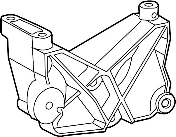 Ford Explorer Sport Trac Alternator Bracket. 4.0 LITER. 4