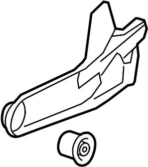 2007 Ford Explorer Arm. Suspension. Trailing. (Rear