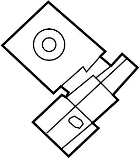 2016 Ford Explorer Cabin Air Temperature Sensor