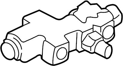 1994 Ford E-350 Econoline Brake Proportioning Valve. Make
