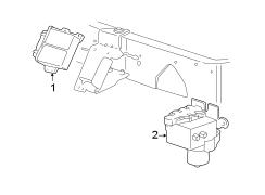 1996 Ford E-150 Econoline Control module. Control valve