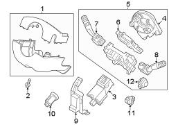 2014 Ford Explorer Sensor. Steering. WKing, WParking