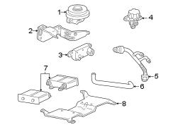 1999 Ford Explorer Vapor canister bracket. Vapor canister