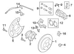 Wiring Diagram: 32 Ford Escape Rear Suspension Diagram