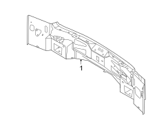 Ford Edge Rear body panel. From 9/8/10. Floor