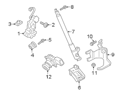 2014 Ford Flex Actuator. DRIVE MOTOR. 2013-19, power lift