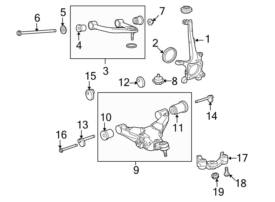 TOYOTA TUNDRA Arm sub-assy, front suspension, lower no.1