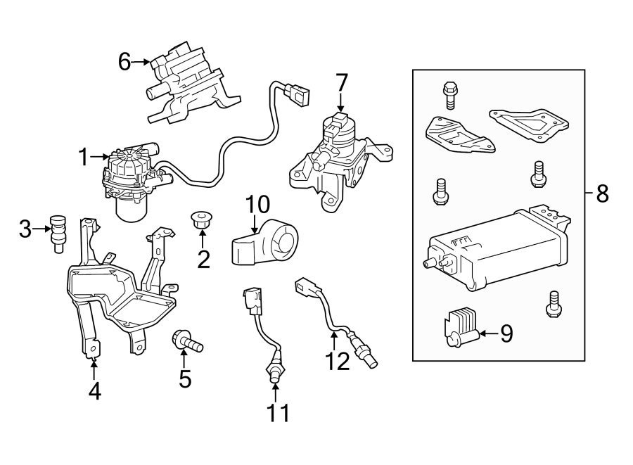2003 Toyota Tacoma Evap System Diagram. 68 tutorial