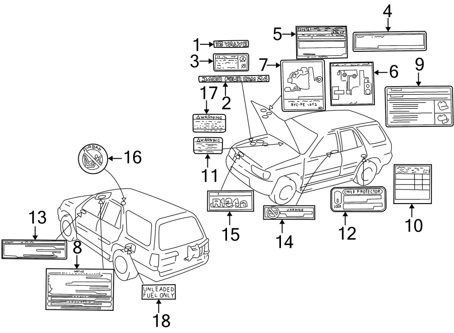 [DIAGRAM] V6 3000 4 Cam 24 Toyota Engine Diagram FULL