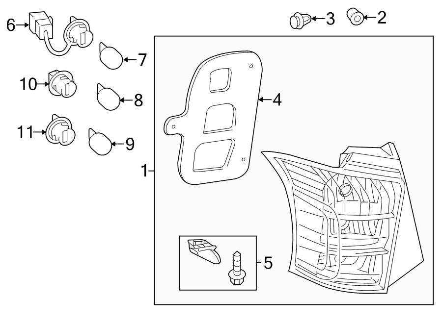 Scion XB Plug assy, front turn signal lamp; socket, front