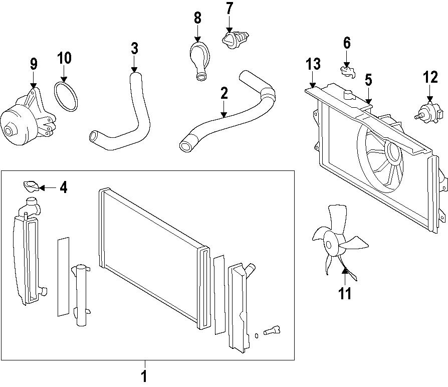 2015 TOYOTA Radiator. Wvalvematic, Valvematic, ExcJapan