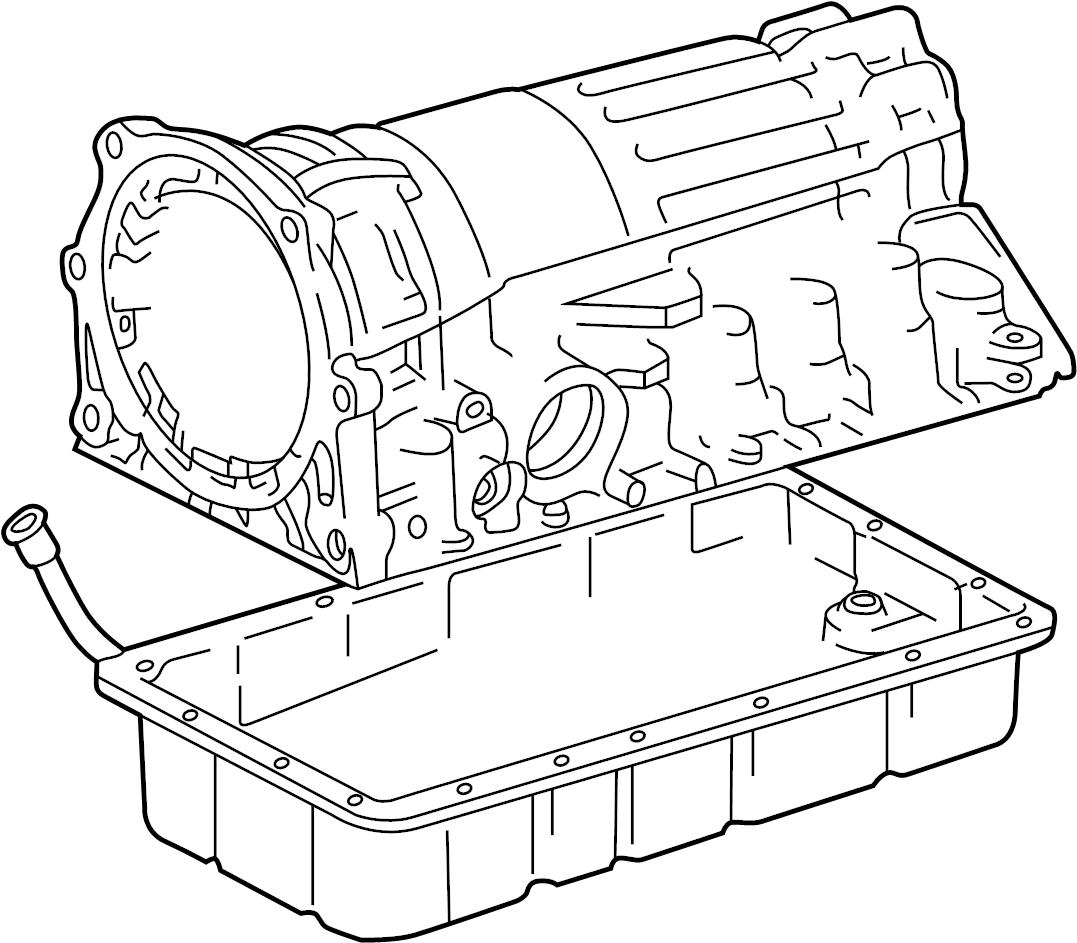 TOYOTA TUNDRA SR-5 Pan sub-assy, automatic transmission