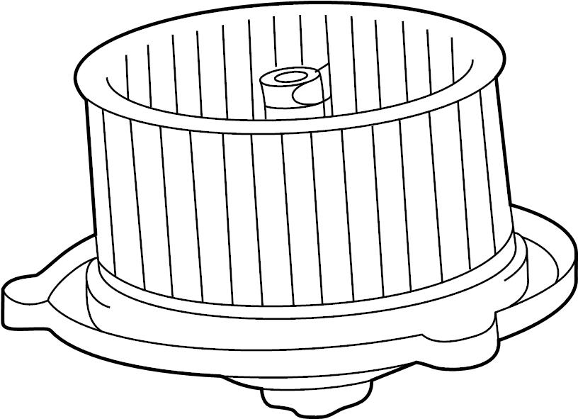 Toyota Carina 2000 Model Blower Fan Motor Diagram