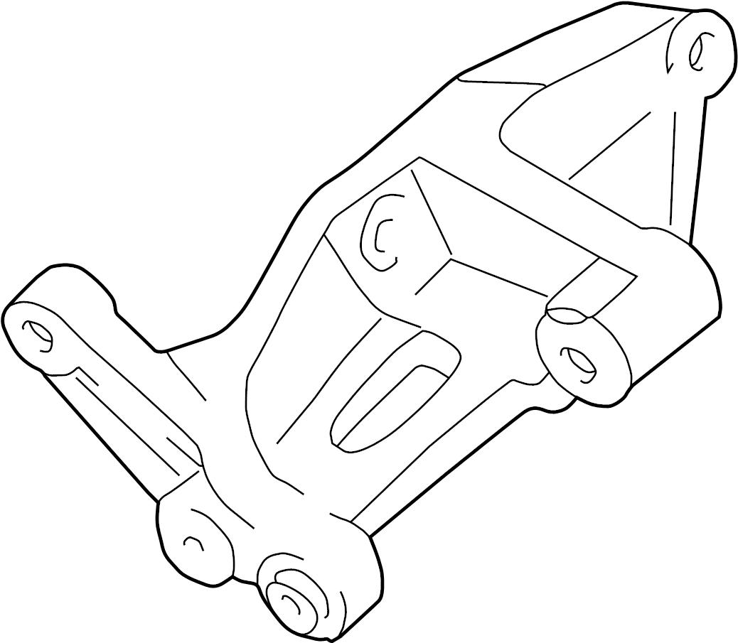 Toyota 4runner Bracket Alternator No 1