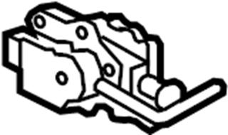 TOYOTA TACOMA 4wd actuator. Actuator. Differential lock