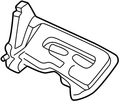 TOYOTA MR2 SPYDER Cover, engine under, no.2. Cover sub