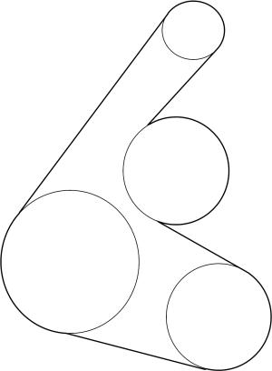 9091602664  Scion Belt, v(for fan & alternator) Belt, vribbed Serpentine | Toyota Parts
