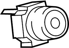 TOYOTA COROLLA Base sub-assy, heater control. Air