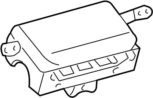 TOYOTA COROLLA Air bag assy, instrument panel passenger w