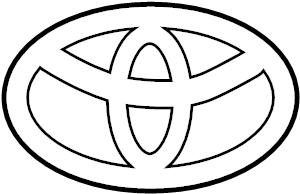 2005 TOYOTA TUNDRA SR5 3400CC EFI, MANUAL, 5-SPEED Emblem