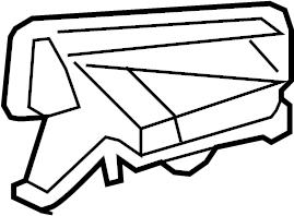 Toyota Highlander Center Console Diagrams