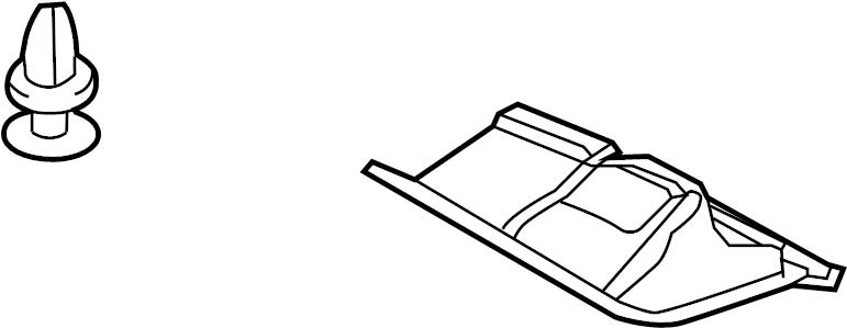 TOYOTA RAV 4 Cover assy. Radiator Support Splash Shield