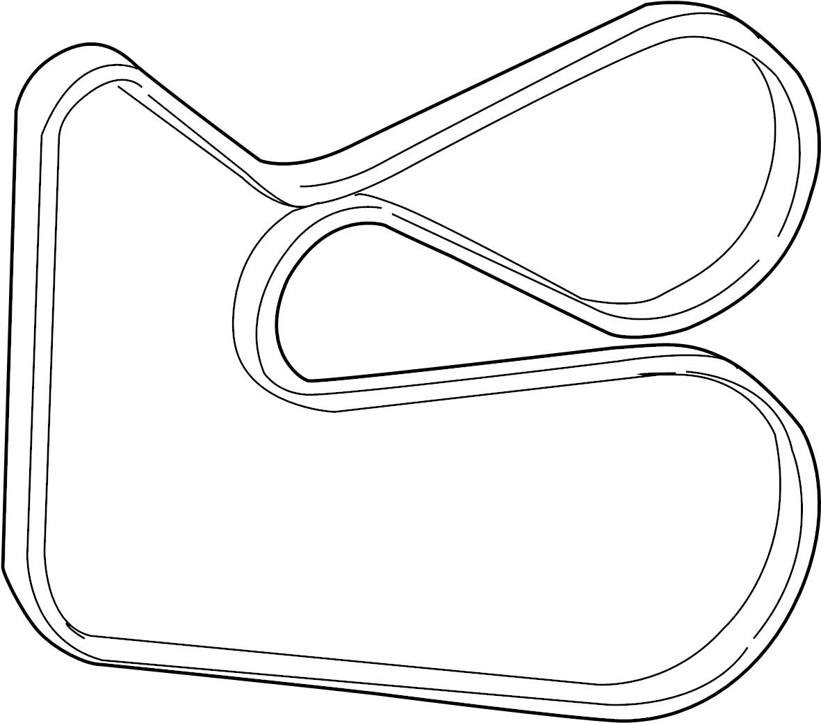 TOYOTA HIGHLANDER Belt, v(for fan & alternator). Belt, v
