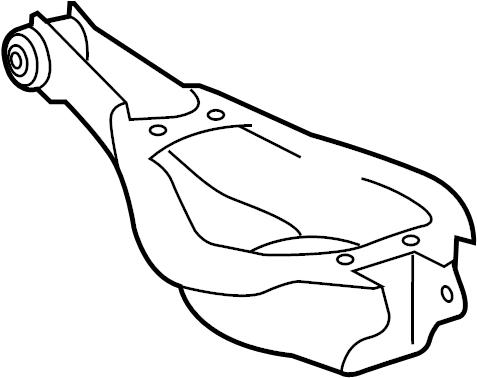 TOYOTA HIGHLANDER Suspension Control Arm (Rear, Lower