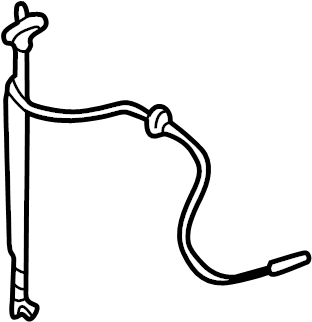 2014 TOYOTA SIENNA Antenna mast. Mast. Radio Antenna Mast