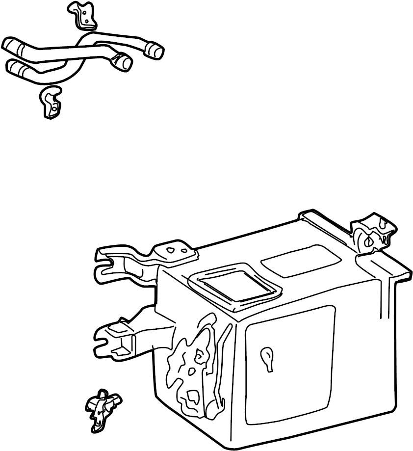 TOYOTA SIENNA Radiator assy, heater. W(auto air