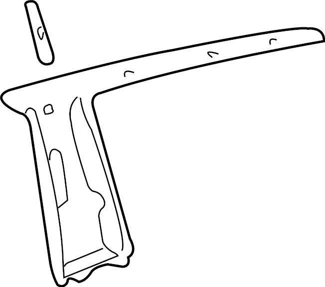 Toyota Sienna Parts Diagram Rear Window. Toyota. Auto